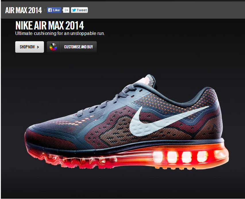 Designa själv Air max 2014 Nike - Designa egna Air Max