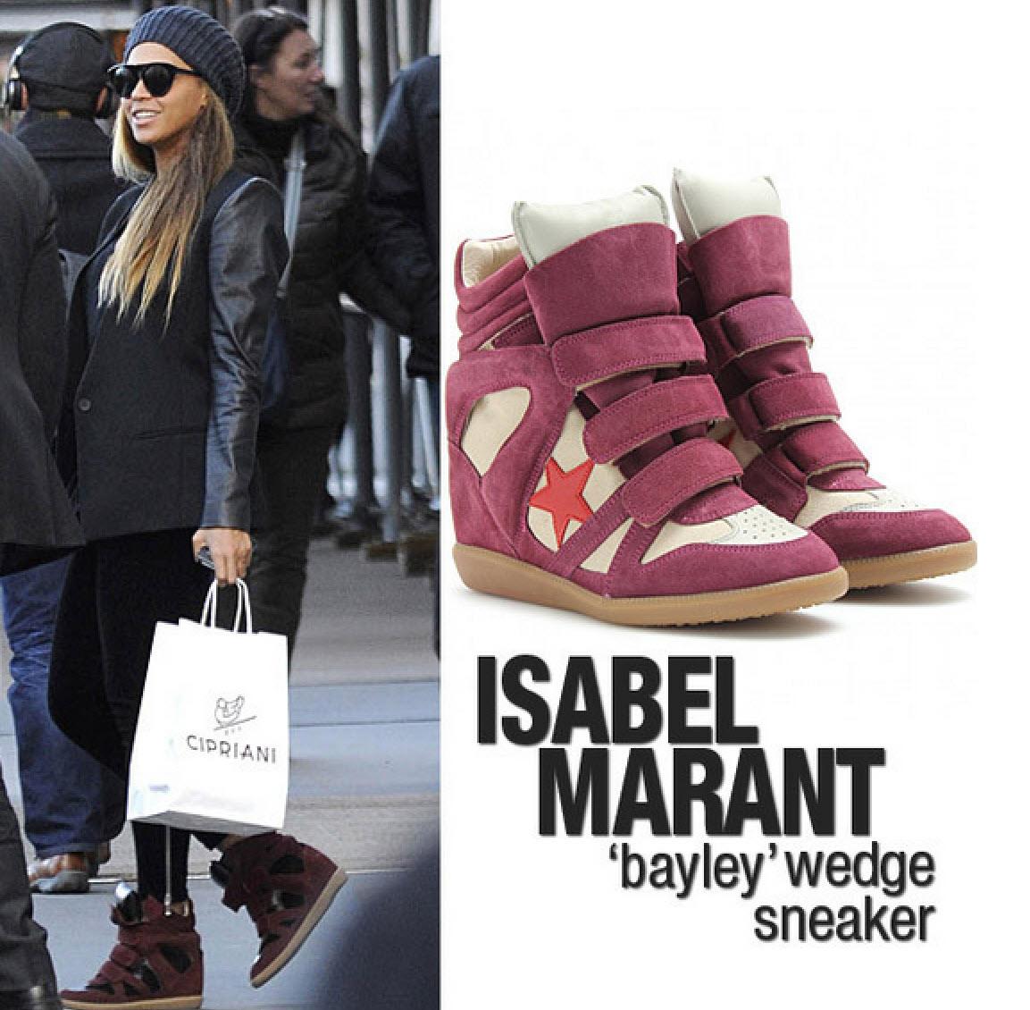 Isabel Marant Wedge sneakers, populärare än någonsin och det finns prisvärda alternativ.
