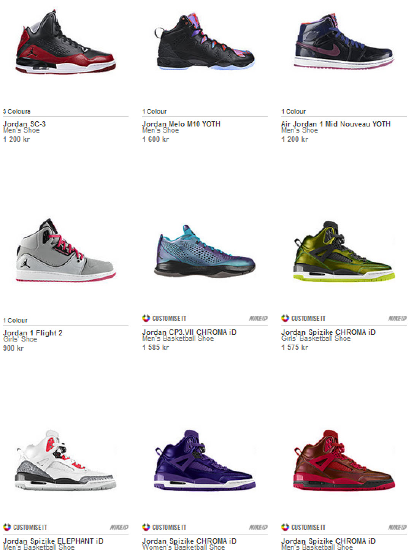 Jordan Sneakers Sverige - kök hos Nike Orginal