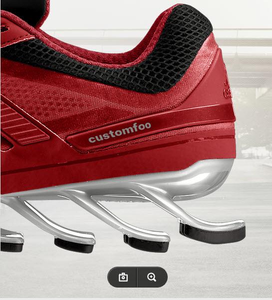 miadidas, namnet på Adidas funktion för att designa egna skor