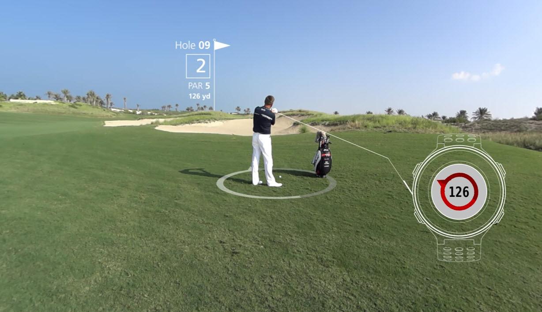 golfklocka test