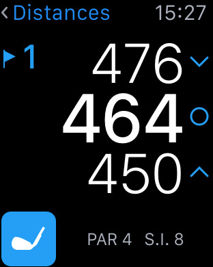Apple Watch Golf Hole19 app golf GPS