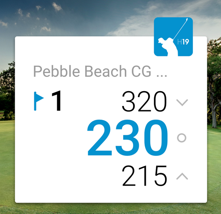 Apple Watch Golf Hole19